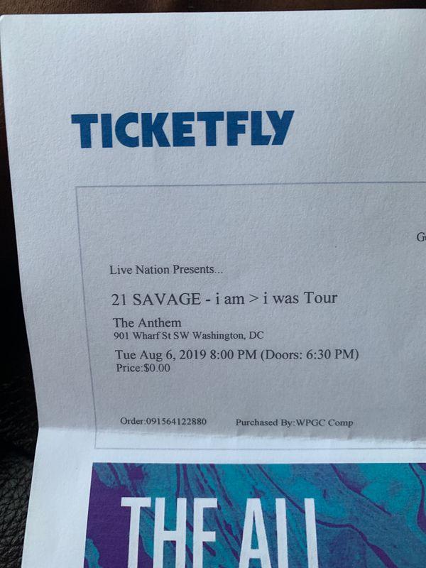 21 Savage I AM > I WAS TOUR