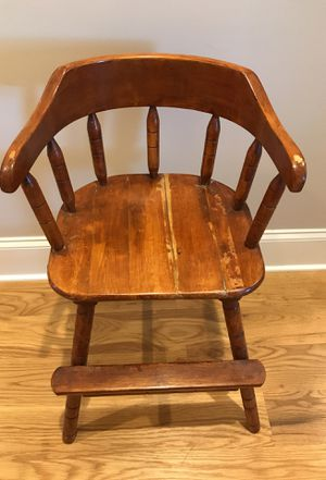 Vintage Antique High Chair for Sale in Blythewood, SC