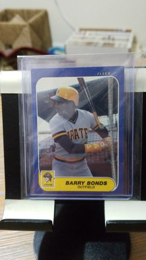 Baseball card- 1986 fleer Barry bonds rc for Sale in Roseburg, OR