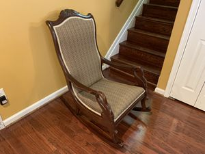 Antique Rocking Chair for Sale in North Springfield, VA