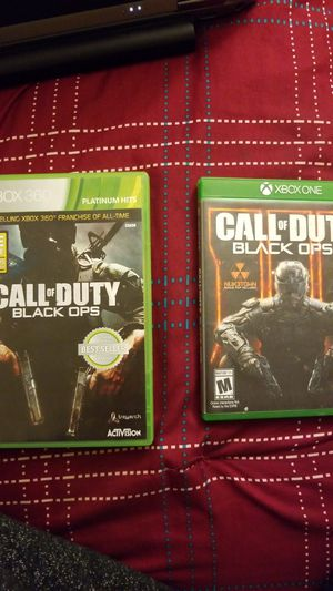 Black ops 1 and 3 for Sale in Sanger, CA