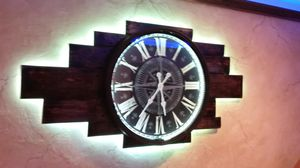 Custom LED Wall Clock with Remote for Sale in New York, NY
