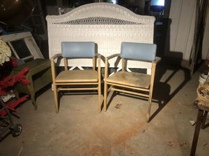 2 matching mid century chairs $35 each or both for $60 for Sale in Oakley, CA