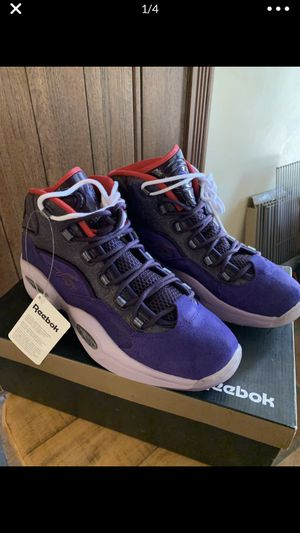 Reebok Iversons size 13 for Sale in San Leandro, CA