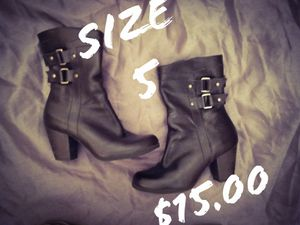 Girls Size 5.5 Black Boots for Sale in Greenwell Springs, LA
