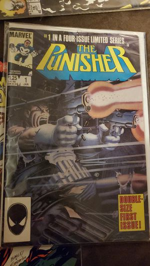 The punisher #1 in a four issue limited series for Sale in Houston, TX