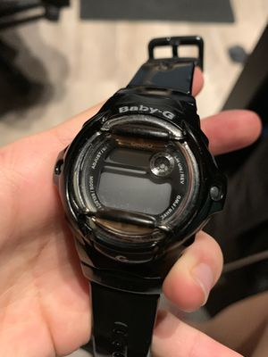 Baby g shock, shiny black for Sale in Alhambra, CA