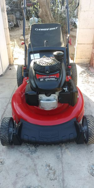 "Troy Bilt 21"" Push Lawn Mower for Sale in Moreno Valley, CA"