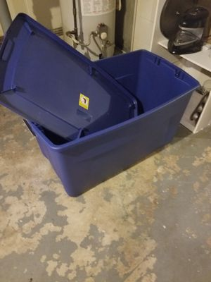 Bin with lid for Sale in Danville, PA