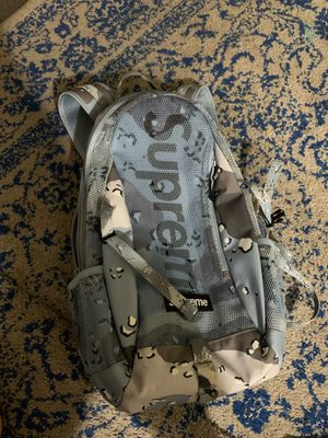 supreme backpack blue camo for Sale in Santa Barbara, CA