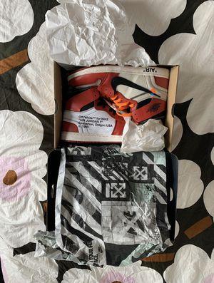 Off white Jordan 1's Chicago signed by Virgil for Sale in Creola, AL