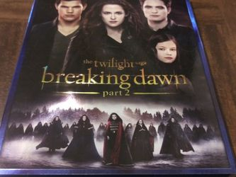 The Twilight Saga Breaking Dawn Part 2 (Blu-Ray) for Sale in Fresno,  CA