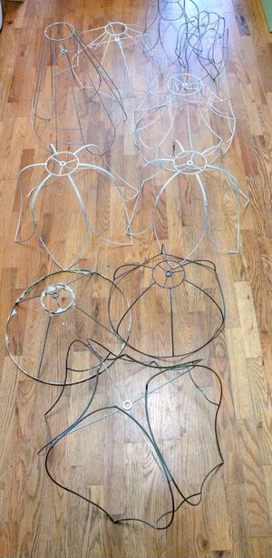 Victorian lamp shade wire frames for Sale in Puyallup, WA