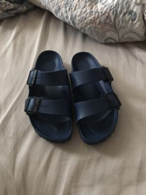 Navy blue Birkenstock's for Sale in Richardson, TX