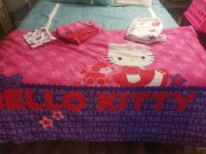 Hello kitty bedding for Sale in Clearwater, FL