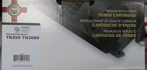 Ink cartridge for a FAX MACHINE. TN350/TN2000 for Sale in Lodi, CA