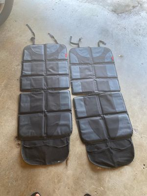 Car seat leather seat protectors for Sale in La Habra Heights, CA