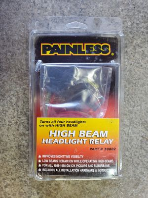Painless Dual High Beam kit for GM for Sale in Edgewood, WA