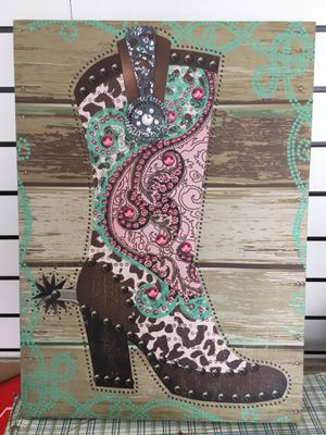 Home decor cowgirl for Sale in Strongsville, OH