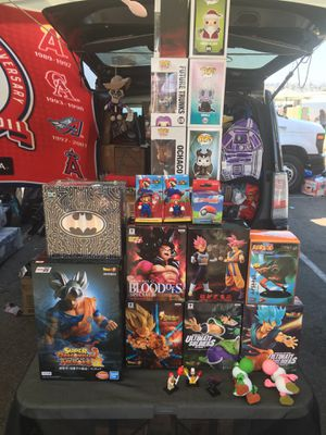 Dragonball z StAtues and more for Sale in San Diego, CA