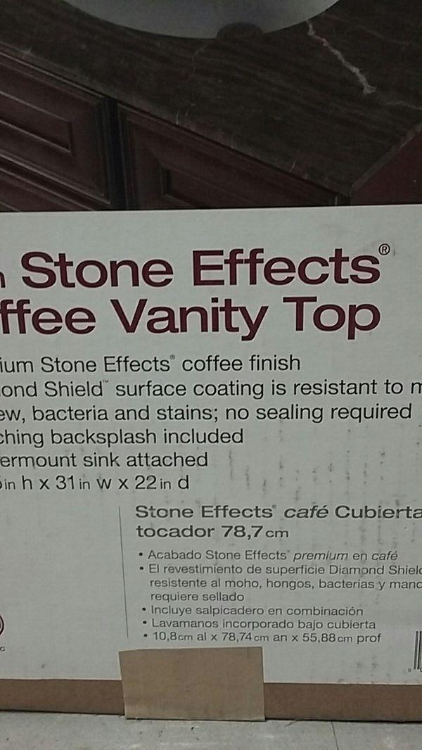 Stone vanity top