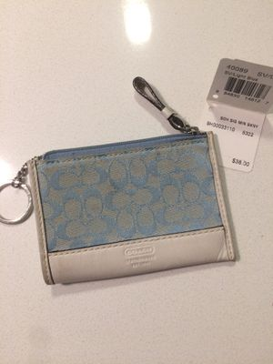 Coach Change Purse with Key Ring for Sale in Irvine, CA