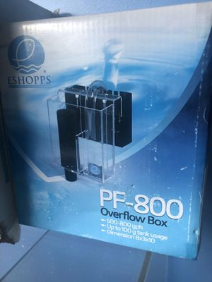 Fish tank overflow box for Sale in Hamilton, OH