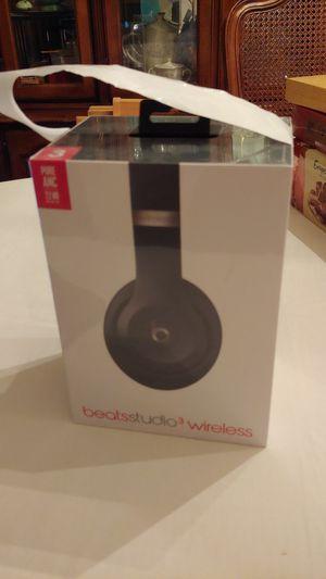 NEW Unopened beats studio3 wireless headphones for Sale in Lake Forest, CA