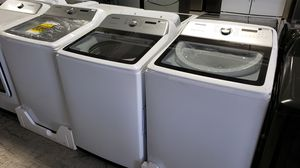 SAMSUNG WASHING MACHING BRAND NEW WASHERS CLOSEOUT MSRP! for Sale in Garden Grove, CA