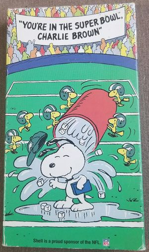 You're in the Super Bowl Charlie Brown vhs movie for Sale in Three Rivers, MI