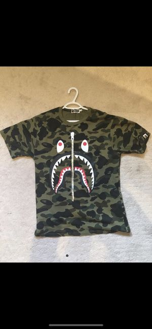 Bape Zipper Tee NYC Only Release for Sale in Lake View, NY