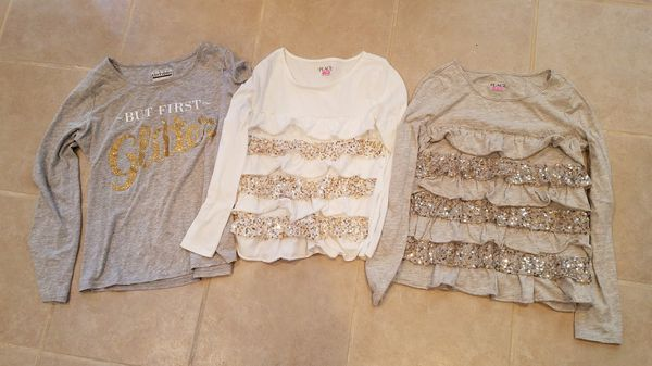Girl's shirts. All for $10