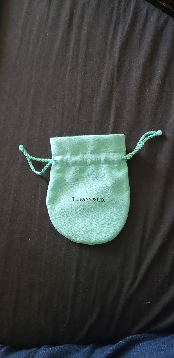 Tiffany and Co jewelry dust pouch