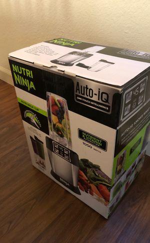 Nutri Ninja Auto IQ Blender Brand New for Sale in San Jose, CA