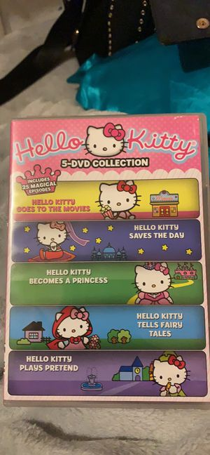 Hello Kitty 5-DVD Collection for Sale in Avis, PA