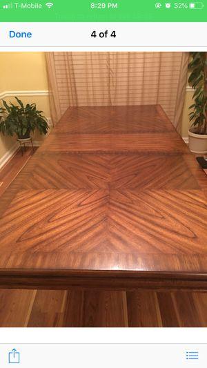 Oak wood dining table for Sale in Snellville, GA