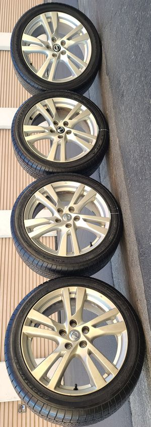 Wheels stock 18 5 lugs nissan for Sale in Downey, CA