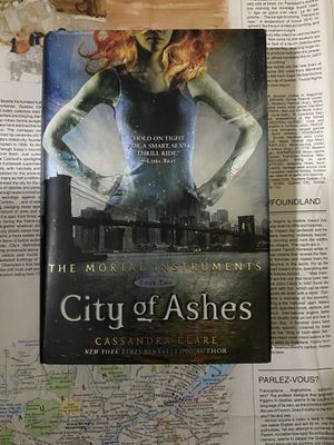 City of Ashes by Cassandra Clare Hardcover Novel Book for Sale in San Diego, CA
