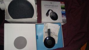 Google Chromecast Home Mini combo for Sale in Coronado, CA