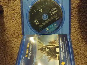PS4 Destiny for Sale in Glendale, AZ