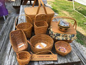 Longaberger Baskets for Sale in Lockbourne, OH