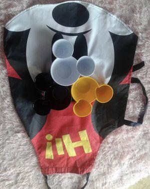 Disney apron and 3 Mickey bowls for Sale in Manassas, VA