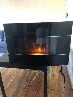 Electric fireplace heater for Sale in Alexandria, VA