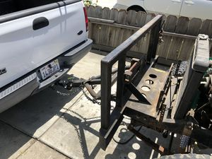 Heavy Duty Tow Bar and Winch Mount for Sale in Fremont, CA