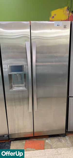Kenmore Refrigerator Fridge Side by Side Stainless Steel #777 for Sale in Orlando, FL