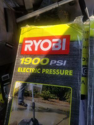 Ryobi 1900psi pressure washer for Sale in North Las Vegas, NV