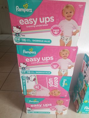 Pampers pull ups 3t-4t for Sale in Miami, FL