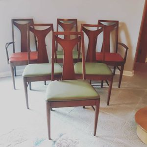 KENT COFFEY PERSPECTA mid century dining chairs x 6 for Sale in OH, US
