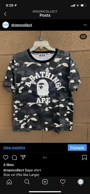 Bape shirt for Sale in Whittier, CA