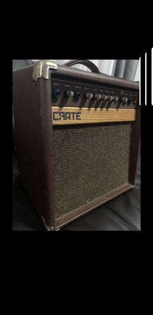 Crate CA30 absolutely great tone amp!!! for Sale in Los Angeles, CA